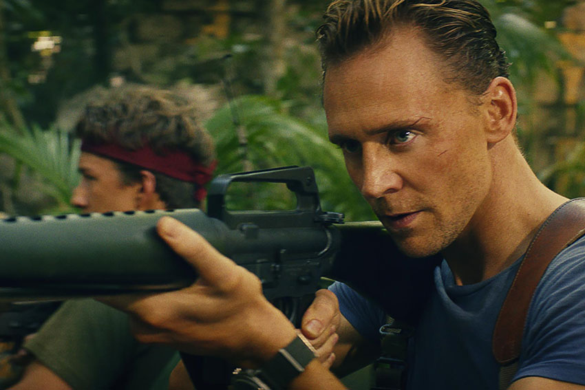 Tom Hiddleston Kong Skull Island movie