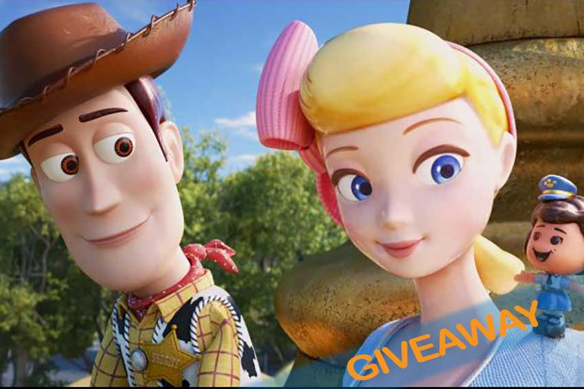 Toy Story 4 ticket giveaway