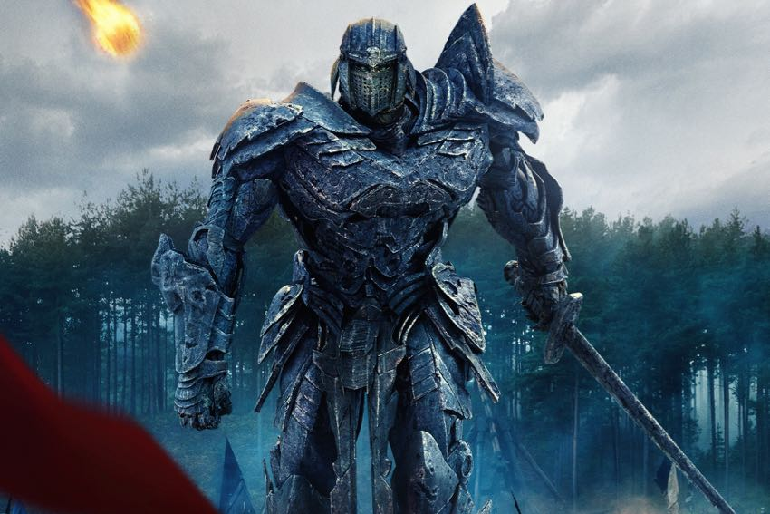 Transformers The Last Knight poster image