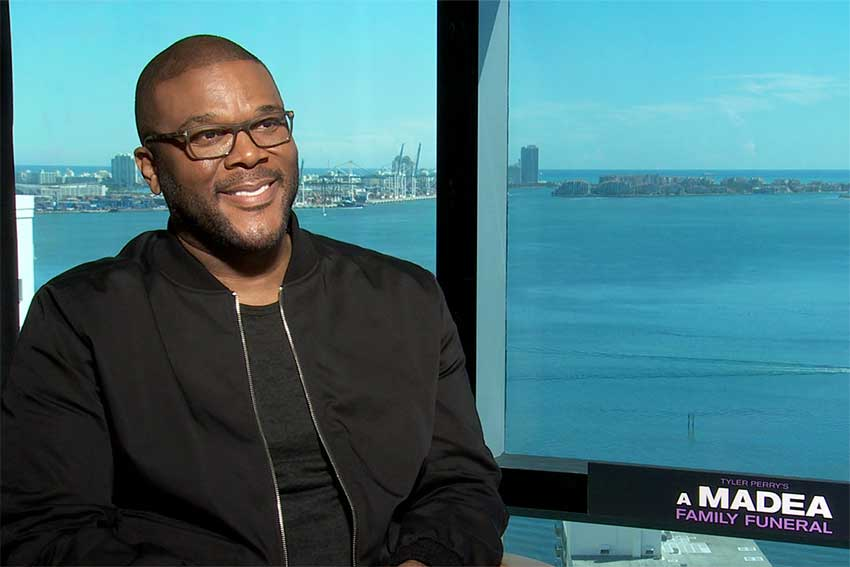 Tyler Perry Madea Funeral interview 850