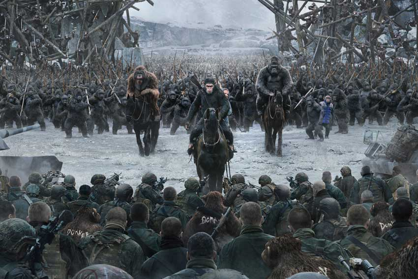 War for Planet of the Apes Poster Image