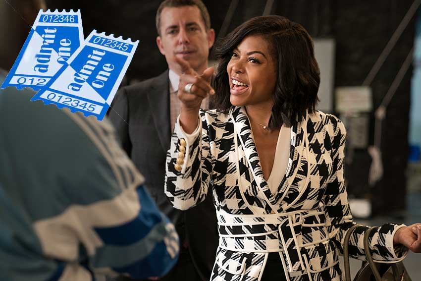 What Men Want Taraji P Henson ticket giveaway