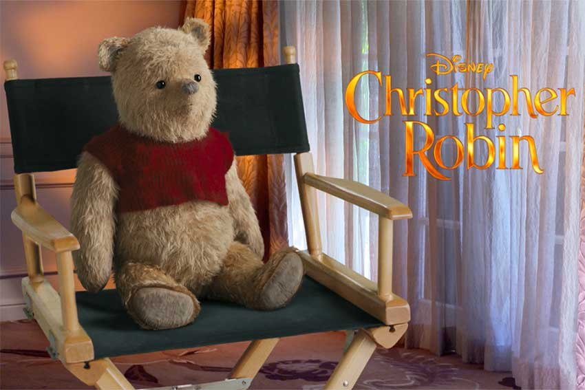 Winnie The Pooh Christopher Robin interview