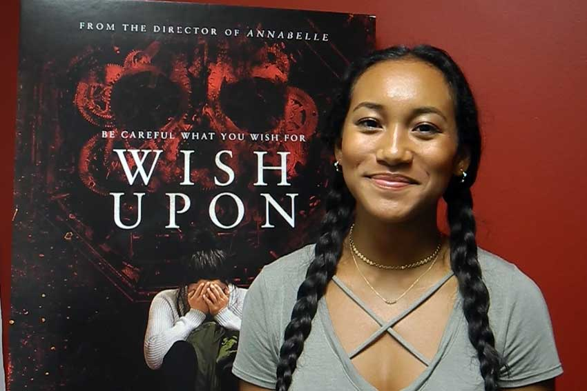 Wish Upon Sydney Park interview CineMovie