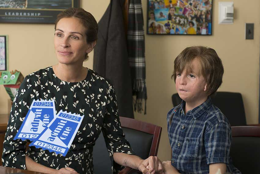 Wonder Julia Roberts movie giveaway