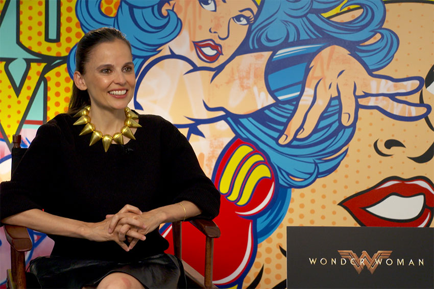 Wonder Woman Movie Elena Anaya interview 850