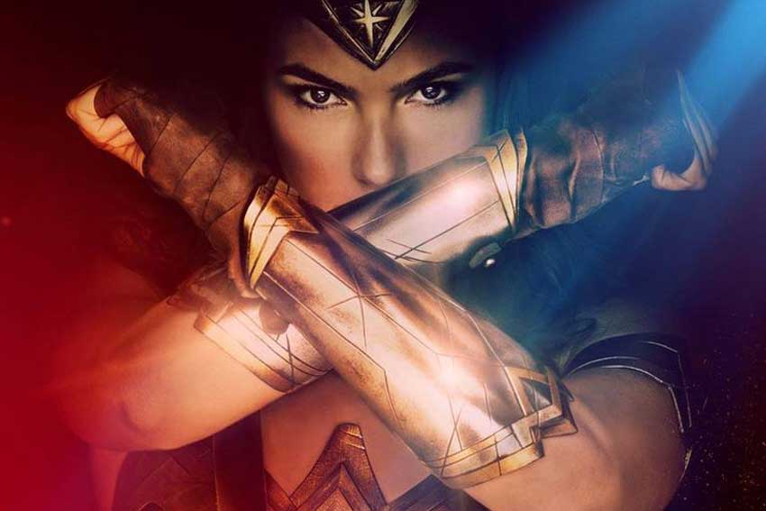 Wonder Woman movie poster image