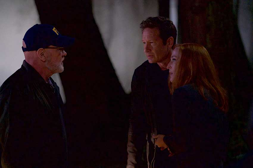 XFiles Season 11 Mitch Pileggi Gillian Anderson David Duchovny