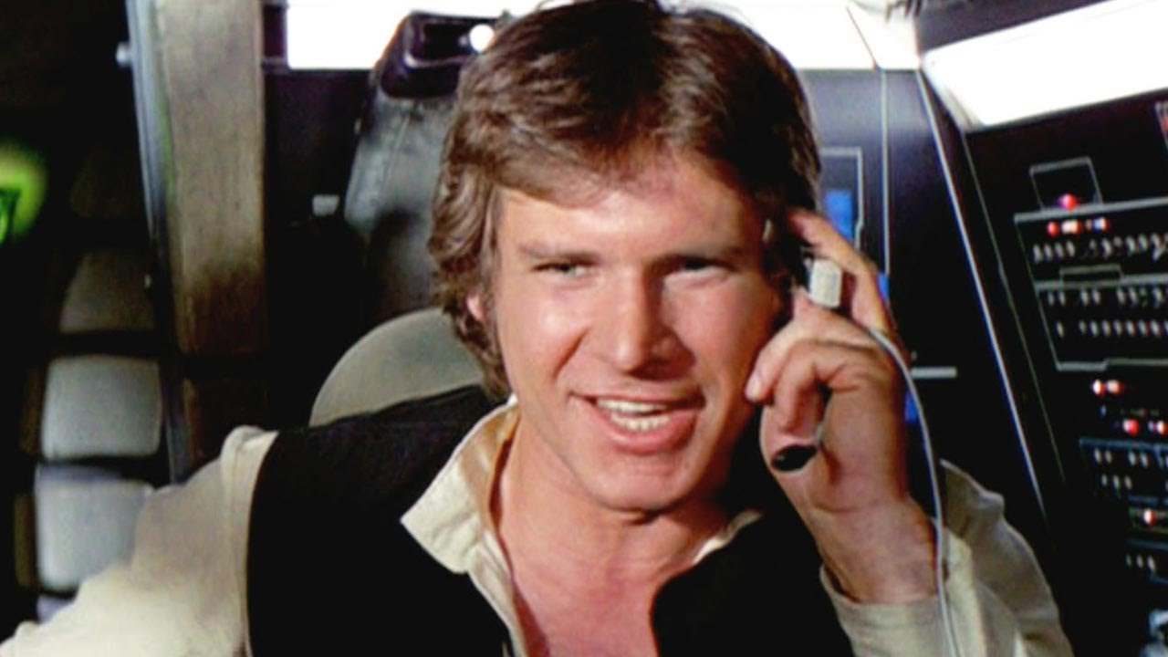 Han Solo Harrison Ford Hair