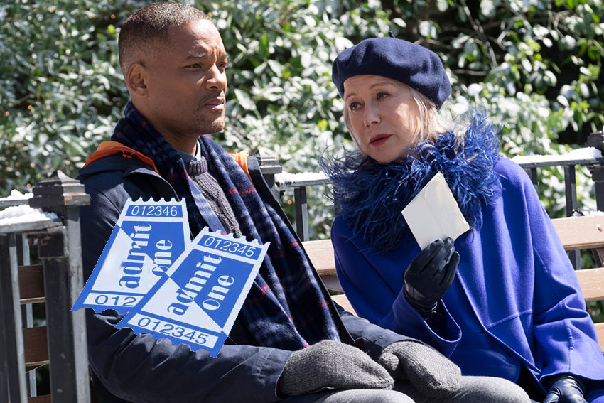 collateral beauty NYC premiere giveaway