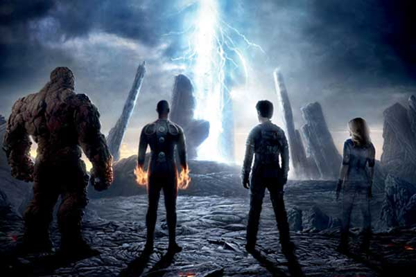 Fantastic Four movie poster image