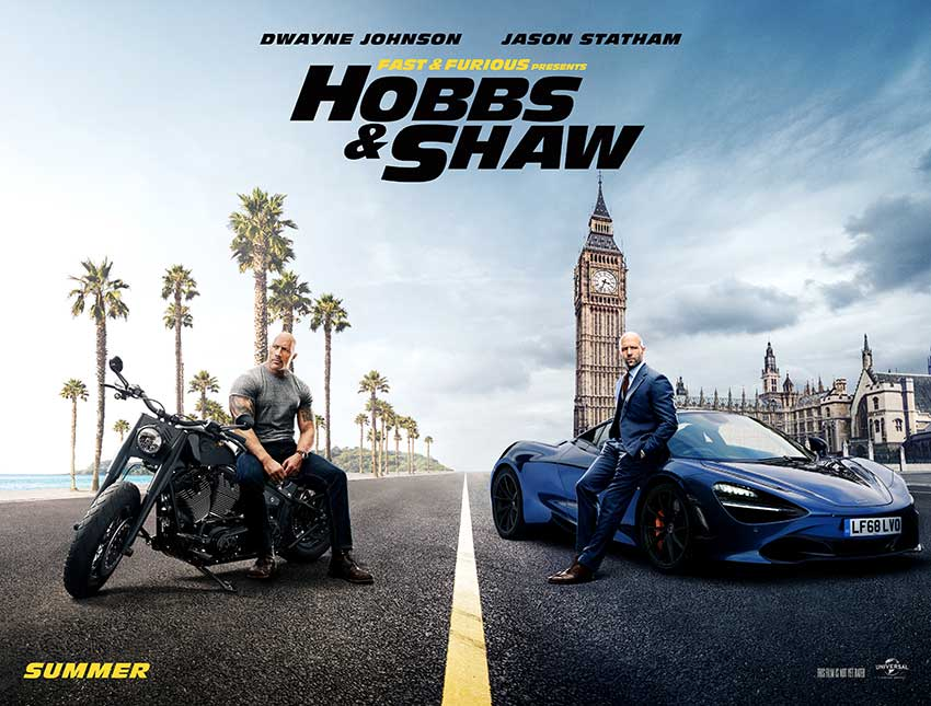 Fast Furious Spin off Hobbs & Shaw