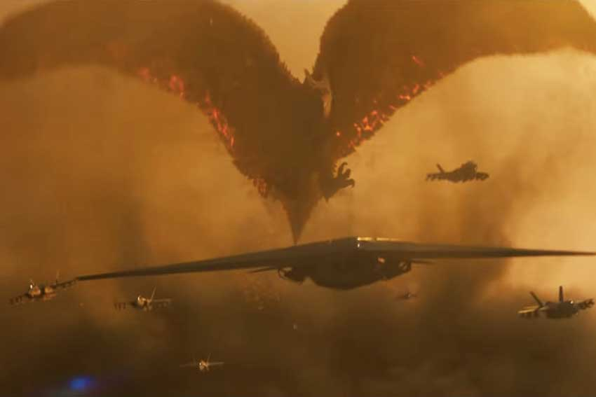 Godzilla: King of the Monsters with Rodan
