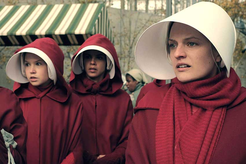 The Handsmaid Tale Season 2 Elisabeth Moss