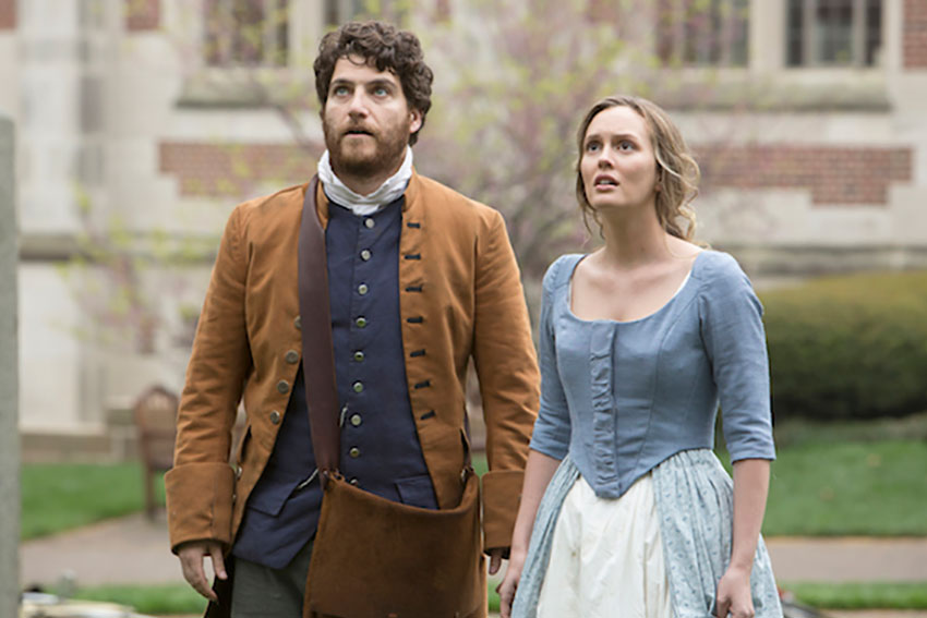 making history fox adam pally leighton meester