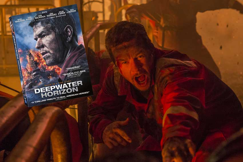 Mark Wahlberg Deepwater Horizon DVD giveaway