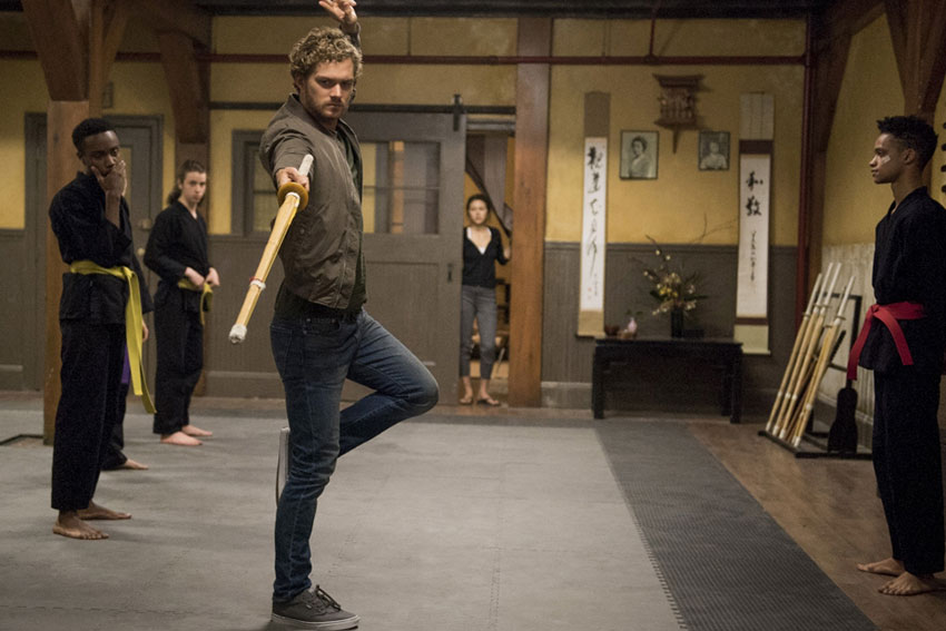 marvel iron fist danny rand martial arts netflix