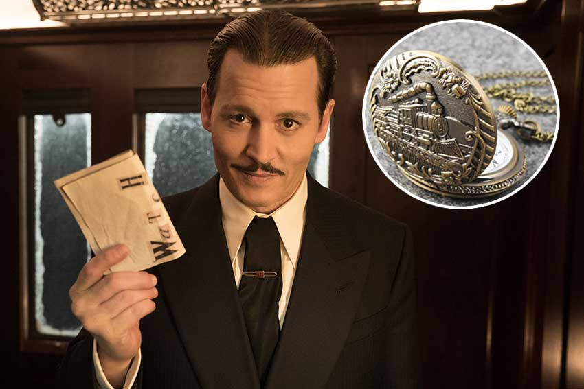Murder On The Orient Express Johnny Depp giveaway