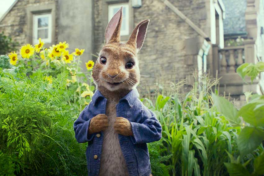 Peter Rabbit 2018 movie