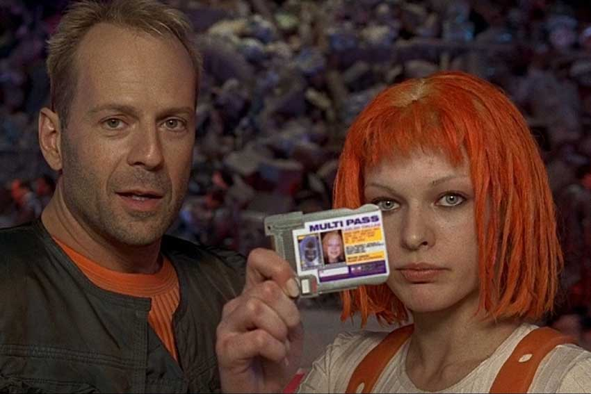 the fifth element BruceWillis MillaJovovich 850
