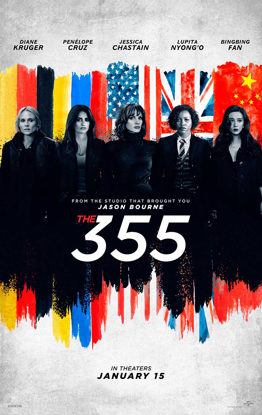 355 Movie Poster