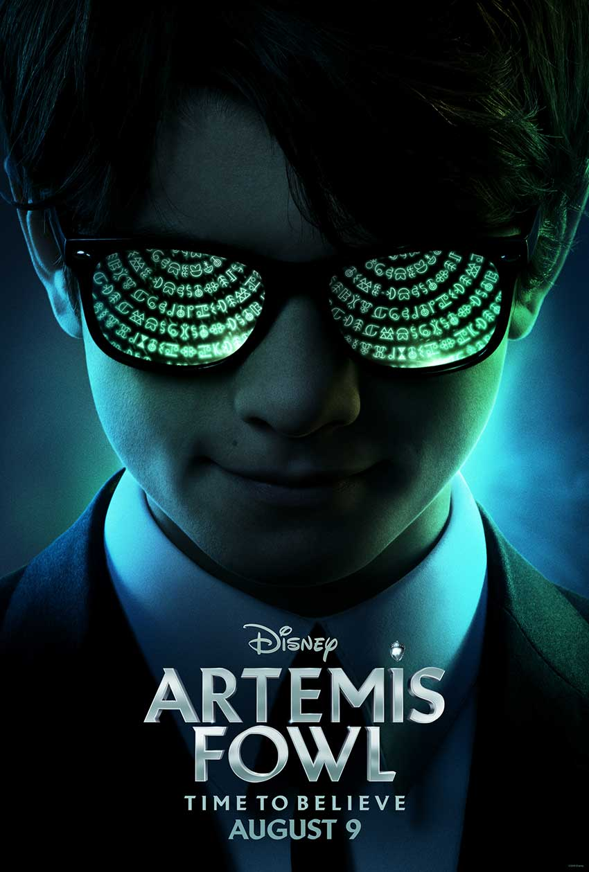 Artemis Fowl teaser movie poster