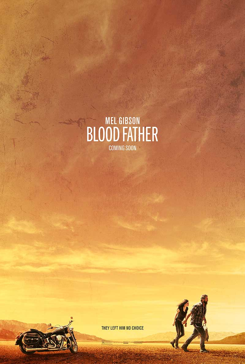 BLOOD FATHER teaser poster