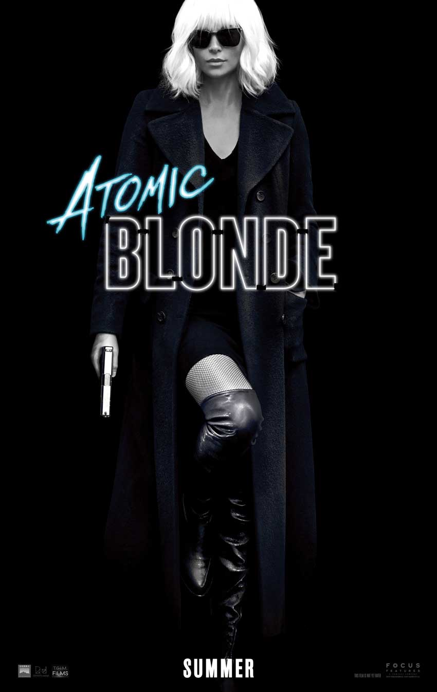 Charlize Theron Atomic Blonde movie poster