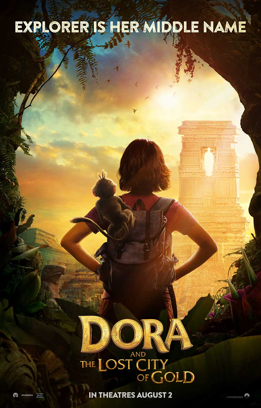 Dora and the City of Gold teaser poster
