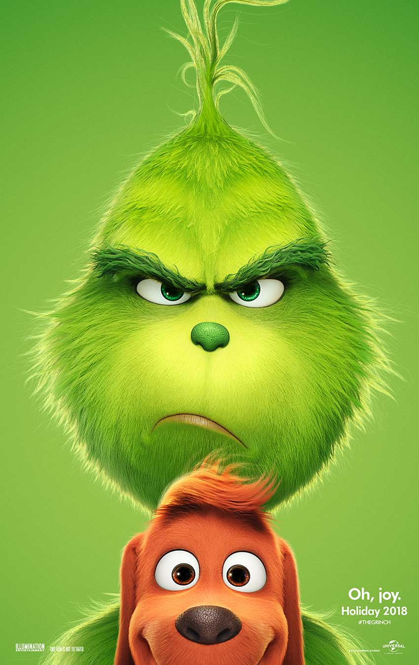 Dr seuss the grinch poster