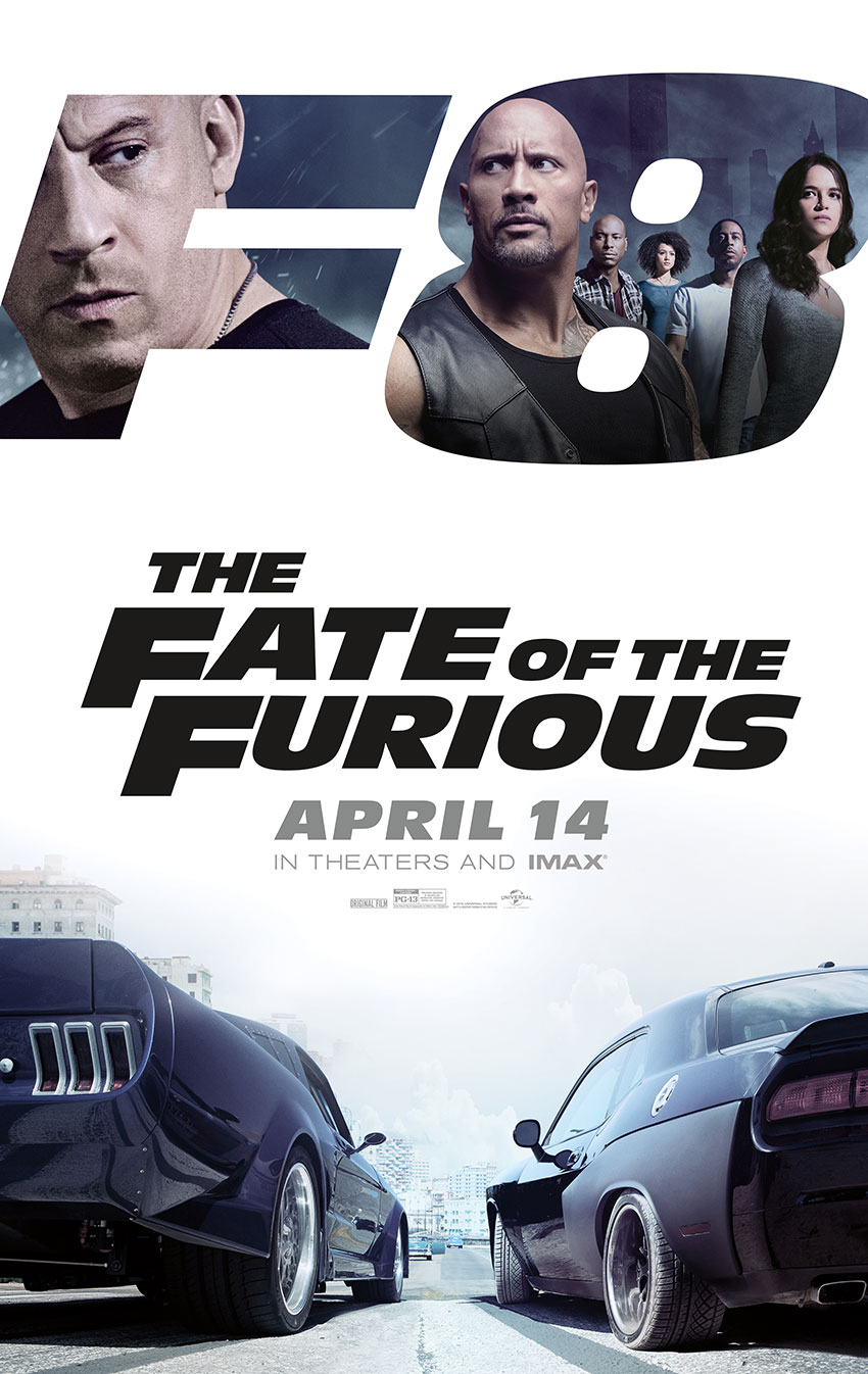 Fate of the Furious movie poster 2