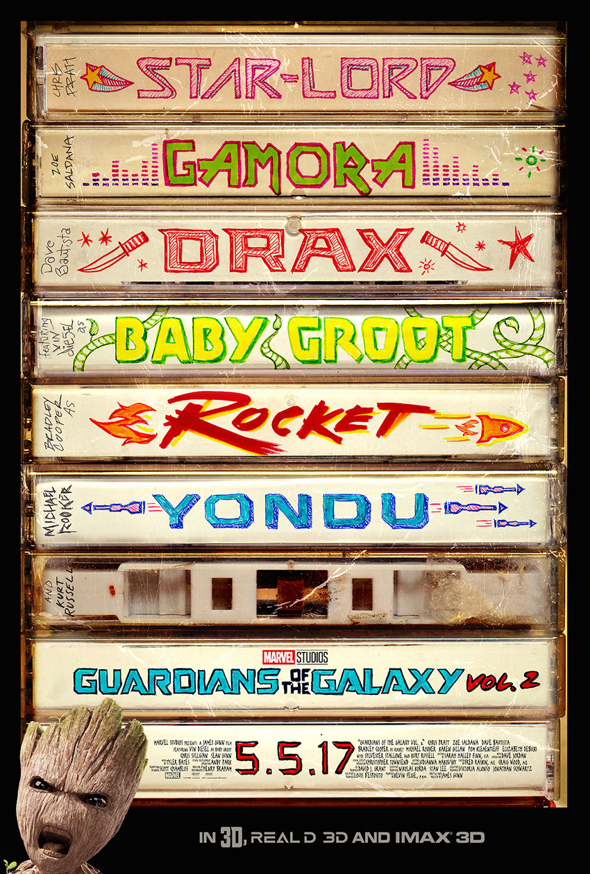 Guardians of the Galaxy Vol 2 new poster