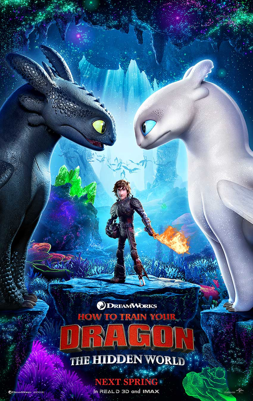 How To Train Your Dragon 3 movie poster