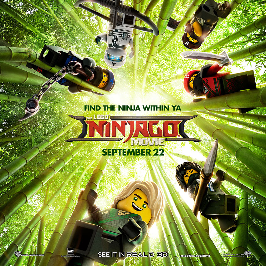 LEGO Ninjango Movie Poster 2