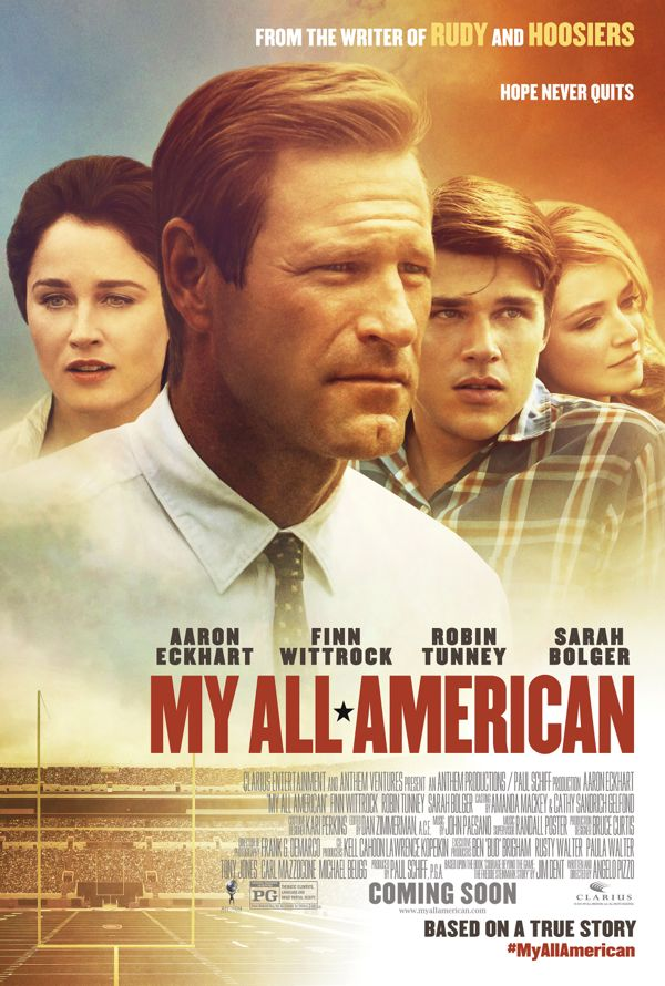 MY ALL AMERICAN movie poster small