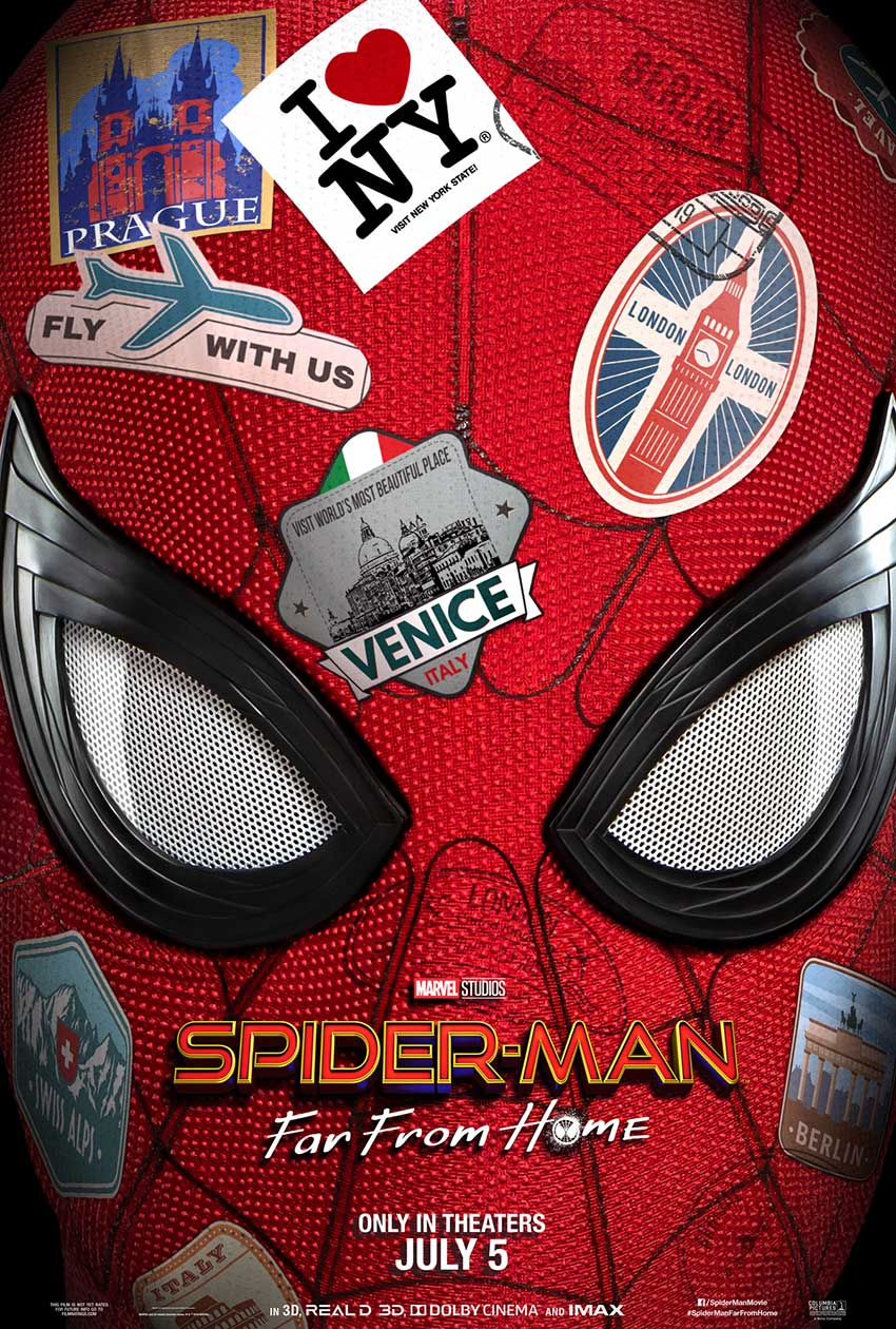 Spider-Man:Far From Home movie poster