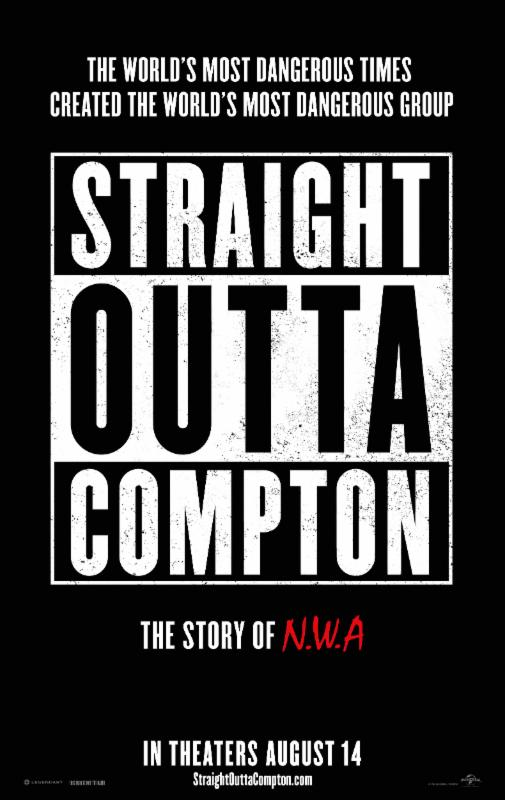Straight Out of Compton poster