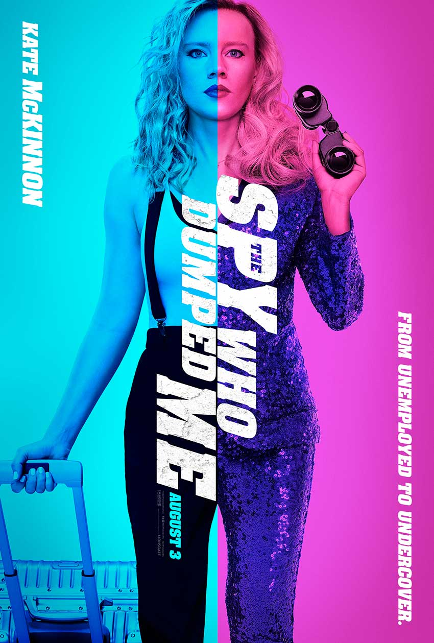 The Spy Who Dumped Me poster Kate McKinnon