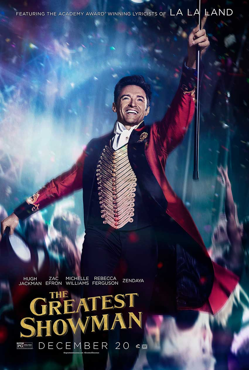The Greatest Showman Poster Hugh Jackman