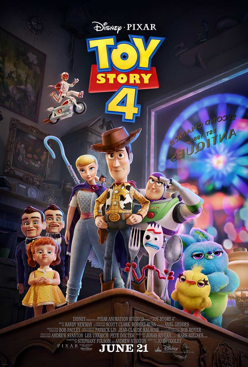 Toy Story 4 new movie poster