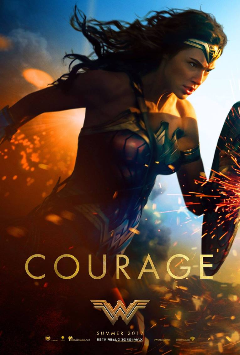Wonder Woman movie poster 1