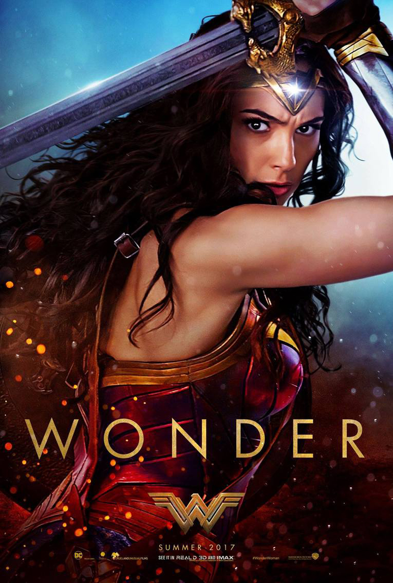 Wonder Woman movie poster 3
