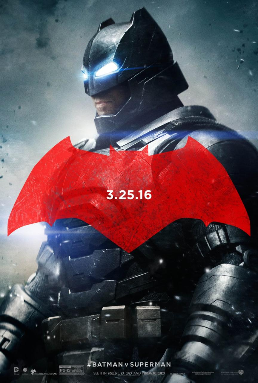 batman v superman poster ben affleck