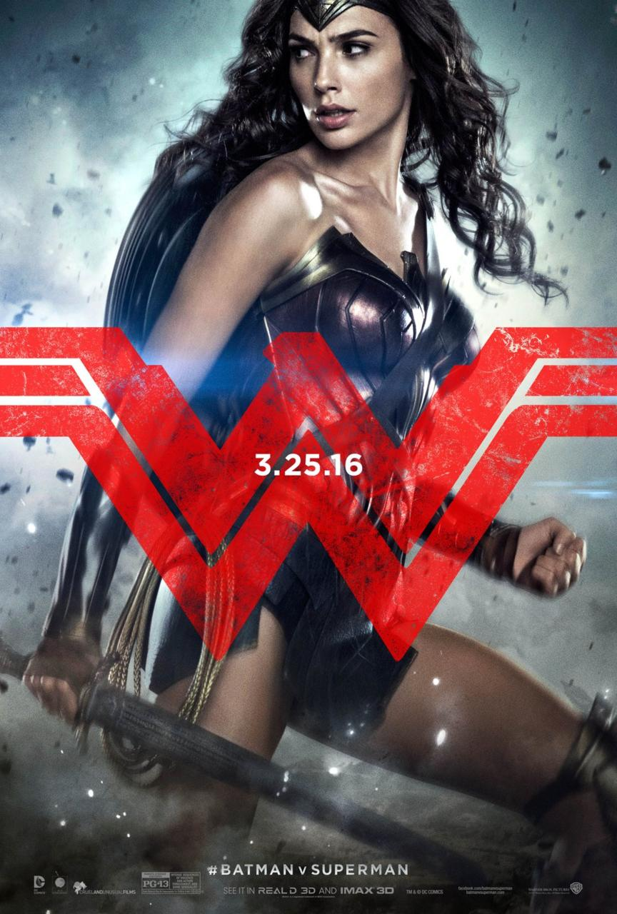 batman v superman poster gal gagot