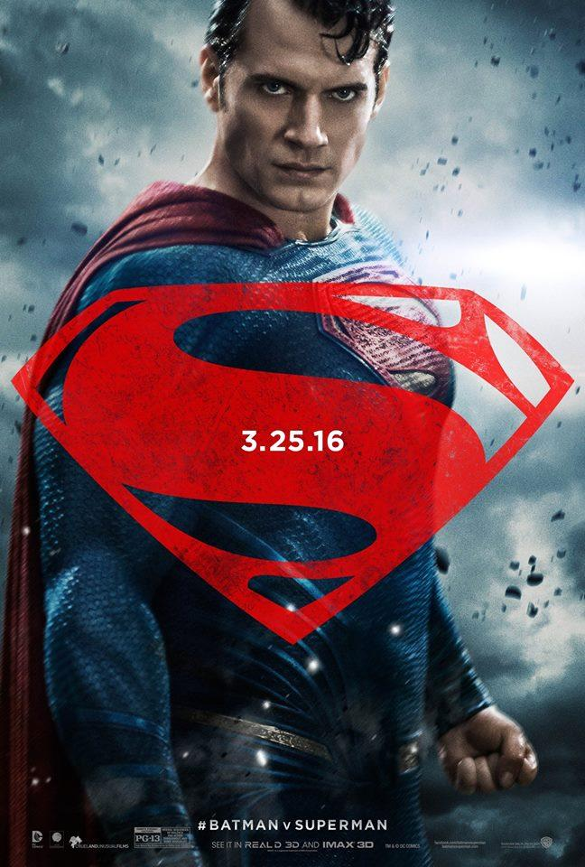 batman v superman poster henry cavill