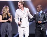D23 Expo 2017 Marvel Paul Bettany Don Cheadle Elizabeth Olsen