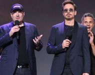 D23 Expo 2017 Marvel Kevin Feige Robert Downey Jr 2