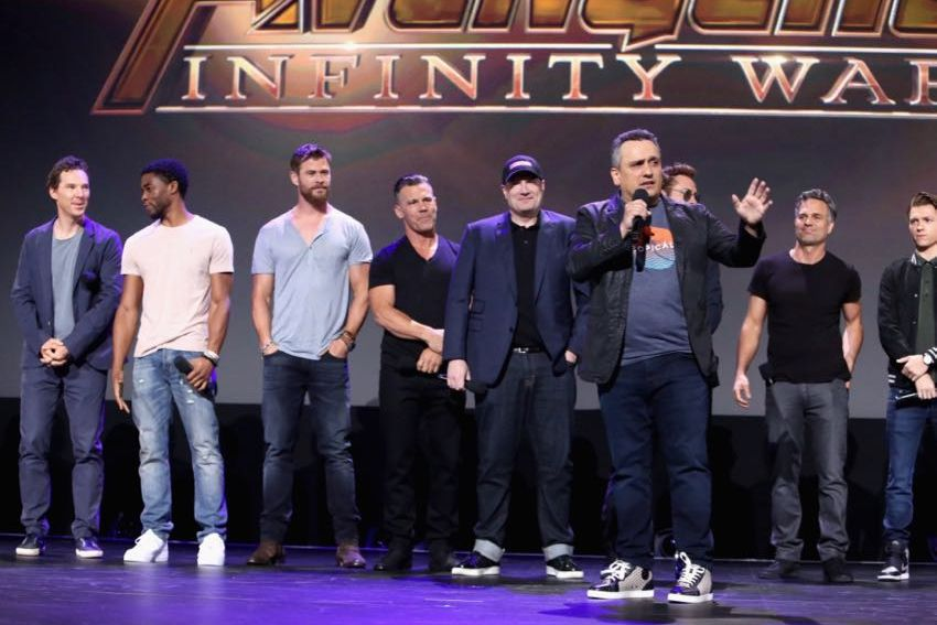 D23 Expo 2017 Marvel panel Joe Russo