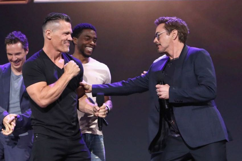 D23 Expo 2017 Marvel Josh Brolin Robert Downey Jr