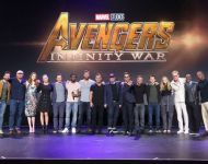 D23 Expo 2017 Marvel Entire Cast